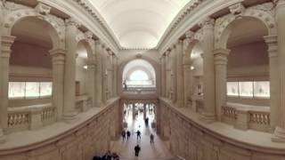 Architect richard morris hunt designed this majestic space in 1902. he never could have imagined that today the museum's main entry greets more than six mill...