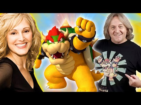 It's Bowser's Voice Actor From Super Mario 🎮 Kenny James 💥 Anime Adventures