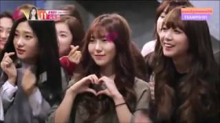 jinyoung's cut in produce 101 ep 11 (eng sub)