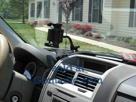Gomadic Brand Bean Bag & Windshield Holder for your cell phone / MP3 player / GPS