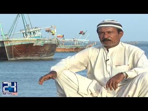 Chinese Company throwing garbage on Ibrahim Hyderi coastline Karachi
