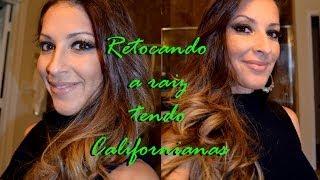 Gambar cover CALIFORNIANAS - COMO RETOCAR A RAIZ ESCURA (METODO FACIL)