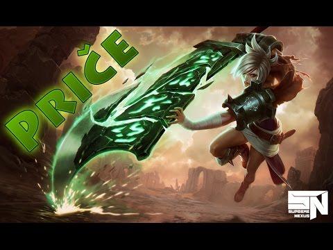 League of Legends Lore - Riven the Exile
