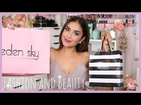 Fall Beauty & Fashion Haul! Eden Sky, Papaya, Sephora & Lush | Dulce Candy