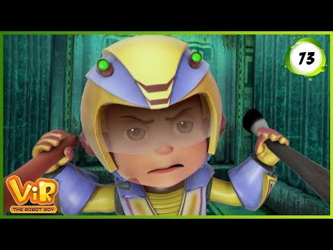 Vir: The Robot Boy | Blob Attack | Action cartoons for Kids | 3D cartoons