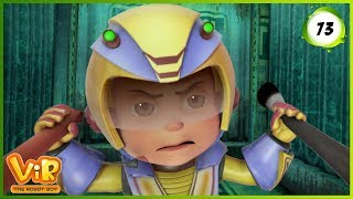 Vir: The Robot Boy | Blob Attack | Action cartoons for Kids | 3D cartoons