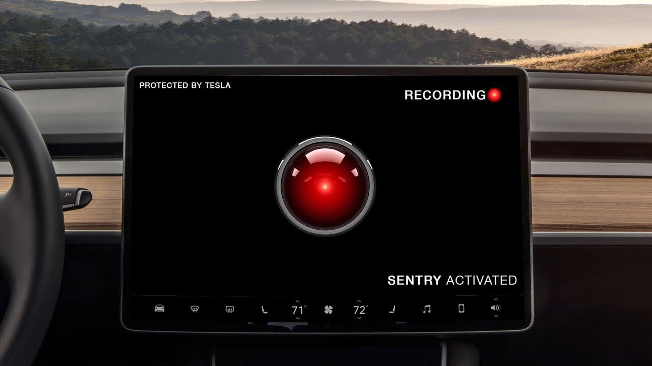 Tesla Sentry Mode PSA