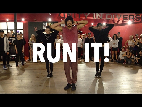 CHRIS BROWN - Run It! - Choreography By Alexander Chung | Filmed By @RyanParma