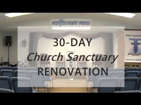 Church Sanctuary Renovation Design Youtube