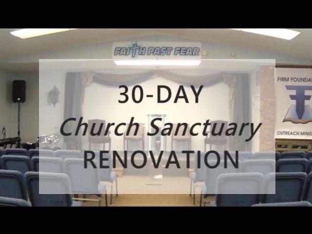 Church Sanctuary Renovation Design Youtube