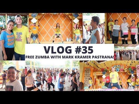 VLOG#35: Free Zumba with Mark Kramer Pastrana! (Apr. 27, 2018)