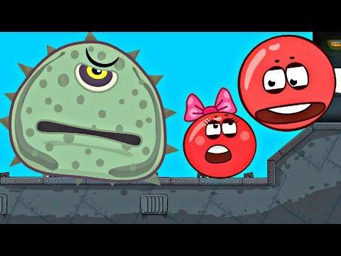 НА НАС НАПАЛО ЧУДИЩЕ !!! Новое приключение про Красный Шарик в игре Red Ball 4 Спуди
