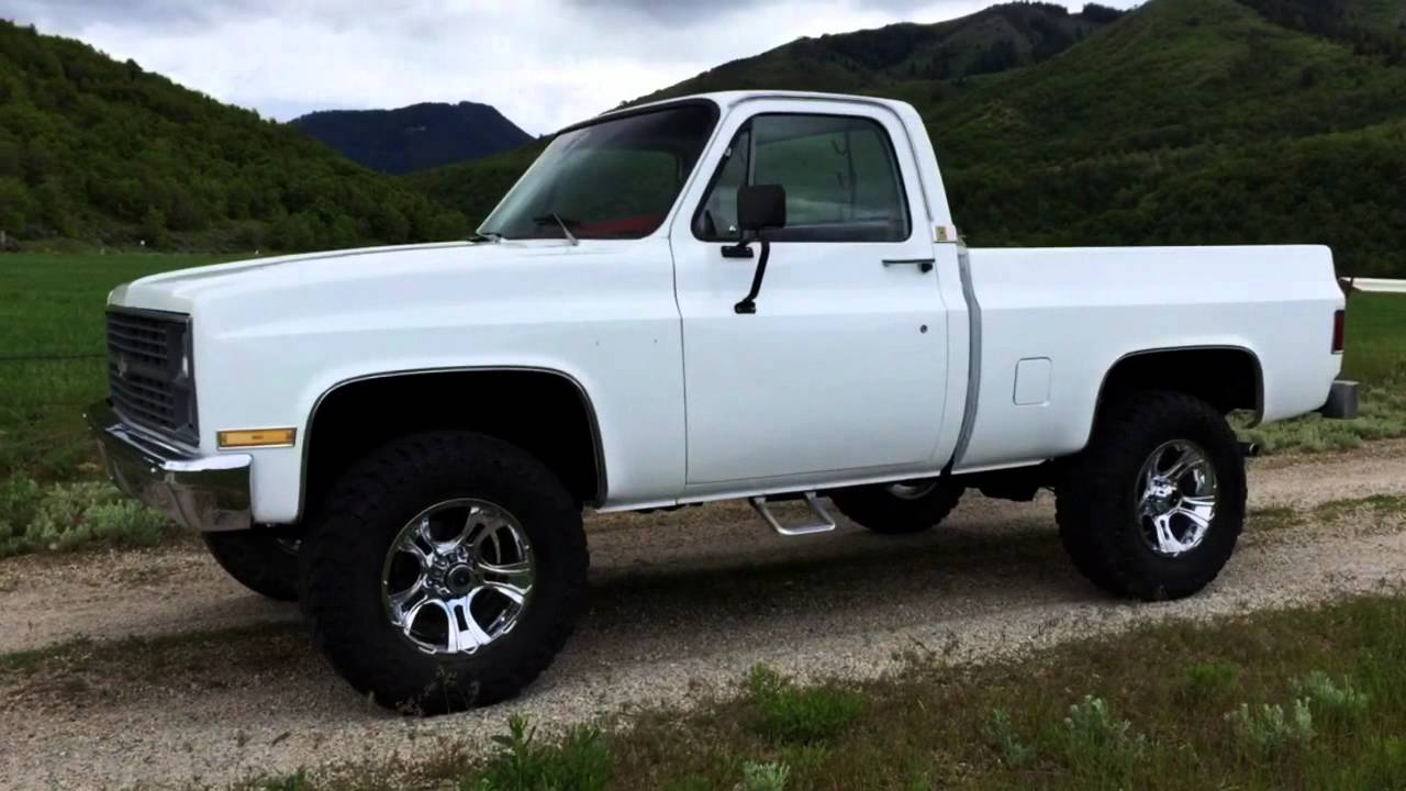 Chevy Scottsdale Lifted >> 1983 Chevy K10 Shortbed - 350 V8 Crate Motor 4-Speed, Fully Restored, $7K Paint, New Interior ...