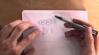 Mathematik - Zahnräder und deren Übersetzung