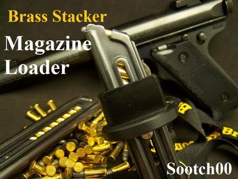 Brass Stacker 22LR Pistol Magazine Loader