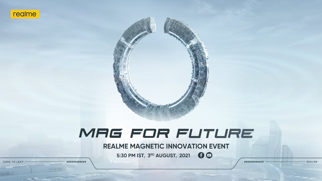 Mag For Future   realme Magnetic Innovation Event 🧲