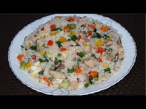 Vegetable fried rice chinese style recipe in bangla youtube vegetable fried rice chinese style recipe in bangla cooking channel bd forumfinder Image collections