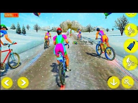 BMX Bicycle Rider PvP Race : Cycle Racing Games #GamePlay thumbnail