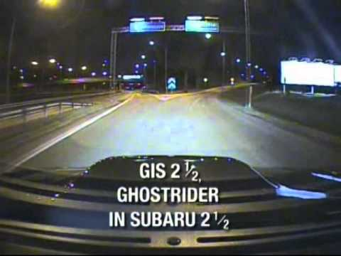 GIS - The Ghostrider in Subaru 1/2 (from the DVD