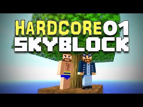 Hardcore Skyblock #01 - Ziemlich eng hier! [Minecraft] [Gameplay German Deutsch] [Let's Play]