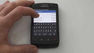 BlackBerry 8550 Storm popravka - Enter Network MEP code 0 left