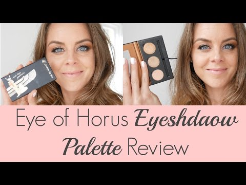 Eye Of Horus Eyeshadow Palette Review | Best Organic Makeup Brands In Australia