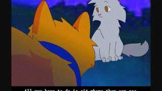 s01e01 Коты Воители - Стань Диким (русская озвучка) часть 2