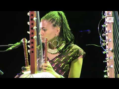 Africa and music. Sona Jobarteh and Kaja Bryx