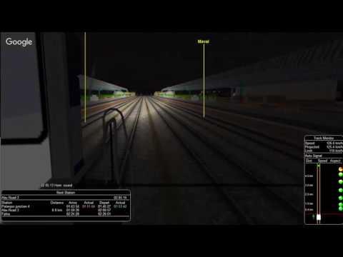 22476/Coimbatore - Bikaner AC SF Express From Palanpur Jn. To Marwar Jn.    IR MSTS Open Rail
