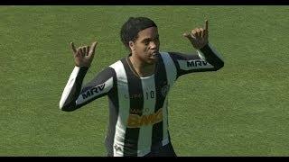 Pes 15 Ronaldinho - Queretaro  2014 2015 skills and goals