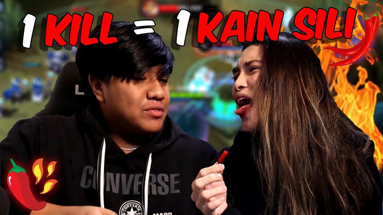1 KILL = 1 KAIN SILI with @Nicole Helzano  sa ML! (umapoy sa anghang)