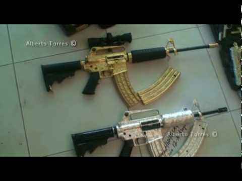 Quitan Armas De Oro Y Diamantes A Lugarteniente Del Chapo Guzmán