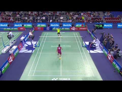 SF - 2014 French Open - Wang Zhengming vs Kento Momota