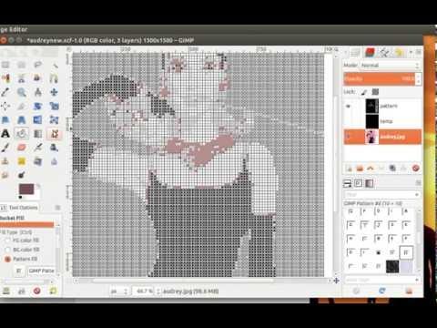Creating Custom Latch Hook Pattern Of
