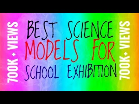 Easy way to make science models for school exhibition