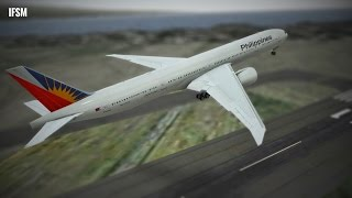 Infinite Flight Boeing B777 Philippines Airlines livery - PHNL - PHTO