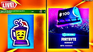🔴 'NEW' 14 JOURS DE SUMMER DAY 4, FORTBYTE UNLOCKS (FORTNITE BATTLE ROYALE LIVE)