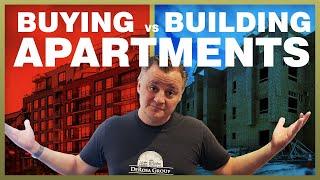 Wat is Beter - het Kopen van een Appartement Complex vs Building One - MM029