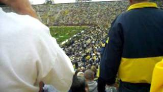 Entering Michigan Stadium