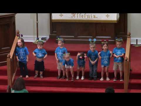 2019 holy trinity preschool graduation closing program