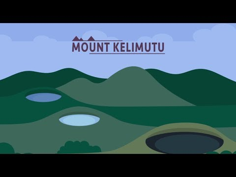 Mount Kelimutu - The Color They Are A-Changin'