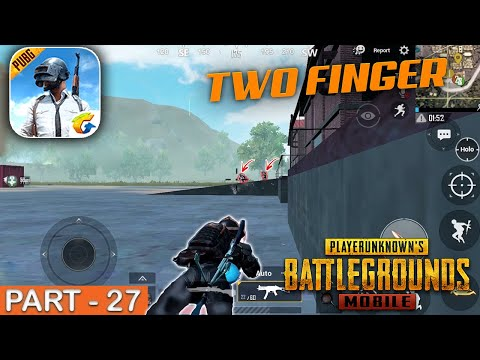 PUBG MOBILE - Epic Two Finger Gameplay - Part 27