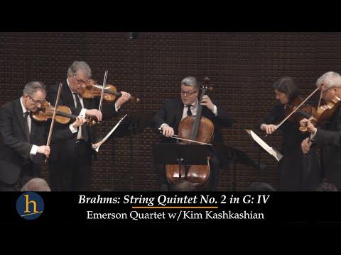 Heifetz 2016: Emerson Quartet & Kim Kashkashian | Brahms: String Quintet , Op. 111: Finale