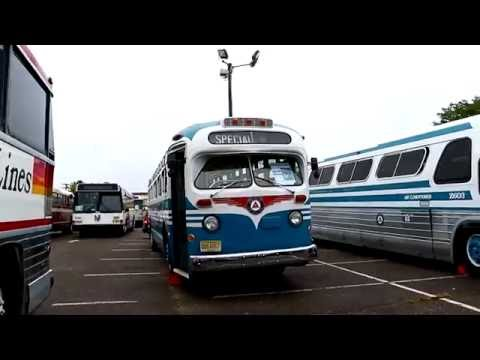 The 1st Annual New Jersey Transportation Heritage Center Open House & Vintage Fleet Showcase