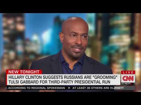 WATCH: Van Jones Completely Torches Hillary Clinton Over Calling Tulsi Gabbard a 'Russian Asset'