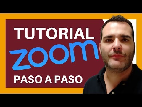 Como Usar La Plataforma Zoom