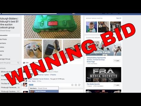 WINNING BID Blitzburgh Bidders | Pittsburgh's 24 hour dollar online auction facebook group,