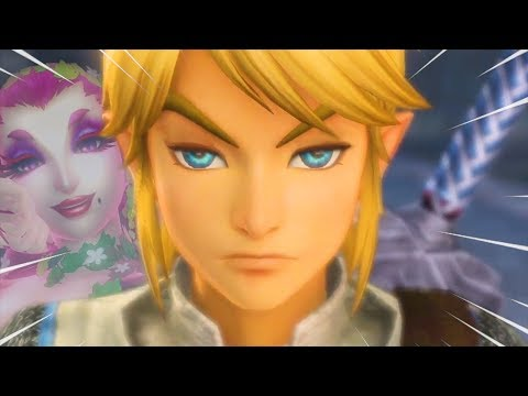 Hyrule Warriors but some funny stuff happens