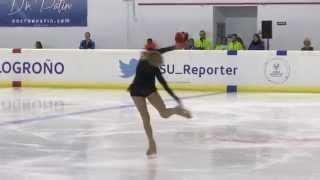 2015 ISU JGP - Logroño Ladies Short Program Serafima SAKHANOVICH RUS