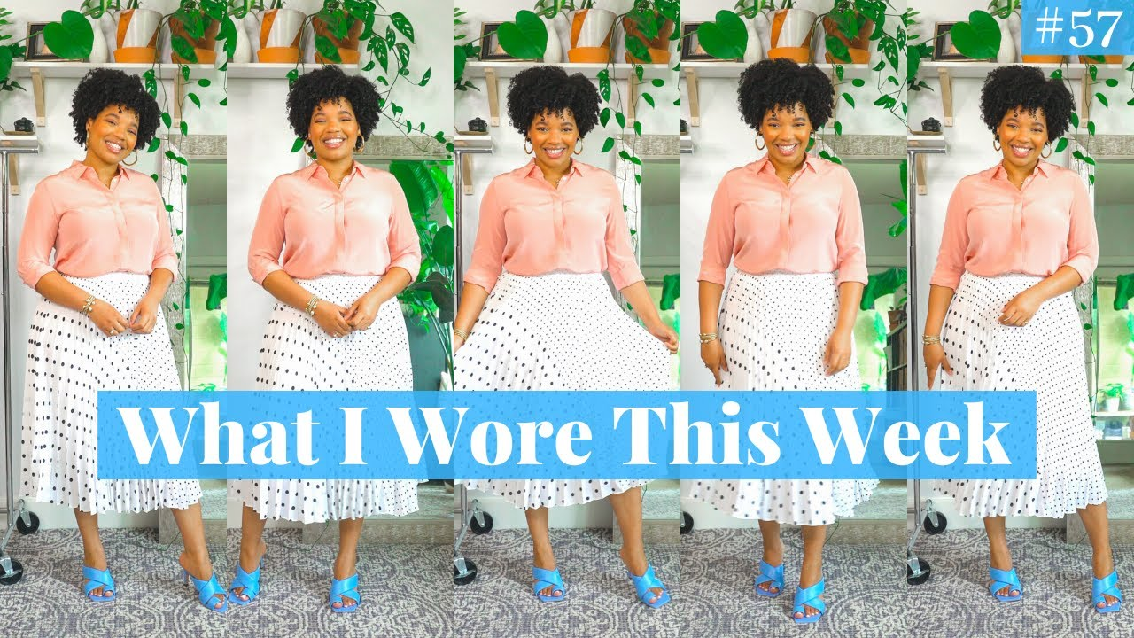 Summer Work Outfit Ideas | What I Wore This Week #57 | Zara, Nordstrom, Sam Edelman, Jcrew